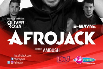 Afrojack (Wall Recordings Label Night) le Samedi 15 Avril 2017